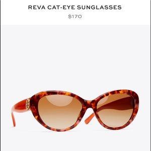 Tory Burch Reva cat eye sunglasses like new